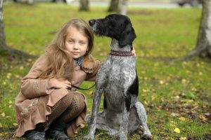 Dog Training programs girl with dog